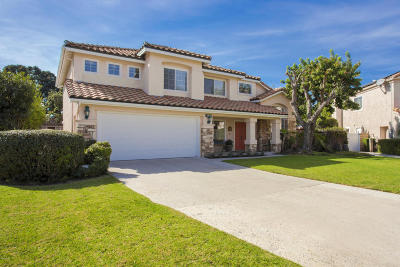 Oxnard Single Family Home For Sale: 2701 Windcrest Court