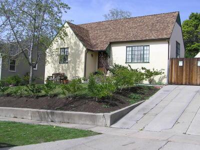Santa Paula Single Family Home Active Under Contract: 542 Mill Street