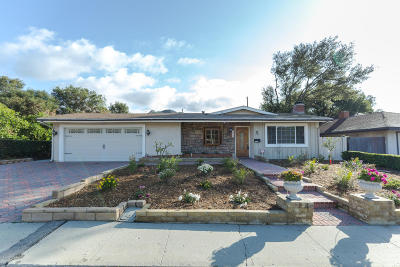 Santa Paula Single Family Home For Sale: 1359 Magnolia Drive