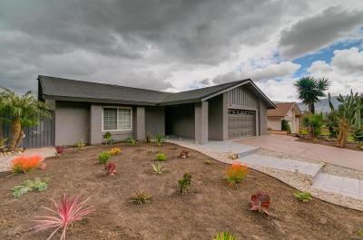 Santa Paula Single Family Home Active Under Contract: 1123 Fuchsia Lane