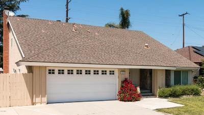 Ventura Single Family Home For Sale: 10835 Galvin Street