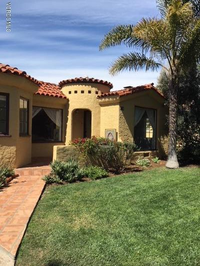 Ventura Single Family Home Active Under Contract: 73 S Katherine Drive