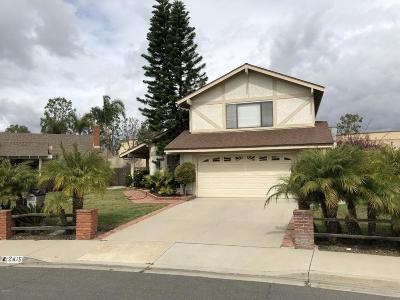 Camarillo Single Family Home Active Under Contract: 2415 Kimberly Avenue