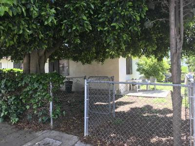 Santa Paula Single Family Home Active Under Contract: 1350 E Orchard Street #A