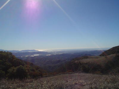 Ventura County Residential Lots & Land For Sale: Sulphur Mountain
