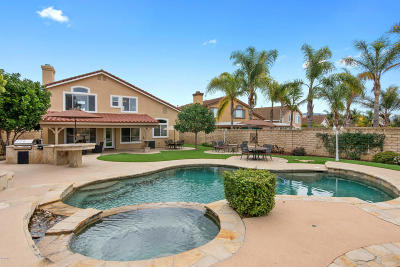 Camarillo Single Family Home Active Under Contract: 243 Via Olivera