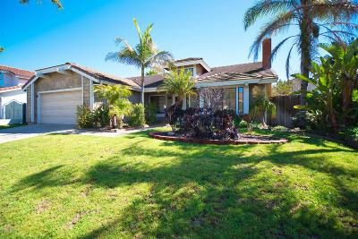 Oxnard Single Family Home For Sale: 720 Ebony Drive