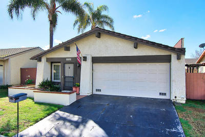 Ventura Single Family Home For Sale: 6048 Falcon Street