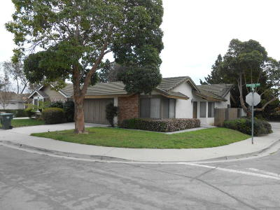 Ventura Single Family Home For Sale: 9120 Feather Street