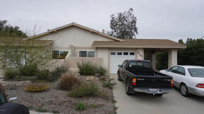 Camarillo Single Family Home For Sale: 5209 Laurel Park Drive