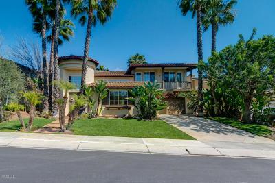 Camarillo Single Family Home Active Under Contract: 2752 Avenida De Autlan