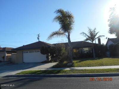 Oxnard Single Family Home For Sale: 630 Oleander Drive