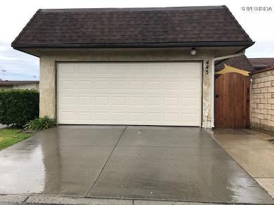 Camarillo Single Family Home For Sale: 445 Baja Court