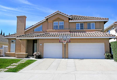 Ventura CA Single Family Home For Sale: $865,000
