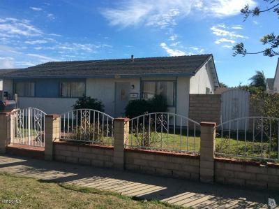 Ventura County Single Family Home For Sale: 1854 Macarthur Place