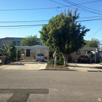 Ventura Multi Family Home Active Under Contract: 11129 Aster Street