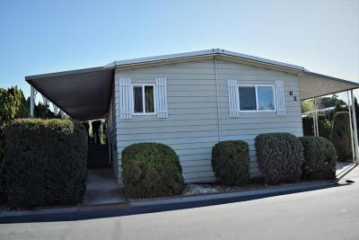 Camarillo Mobile Home Active Under Contract: 1150 Ventura Boulevard #62a