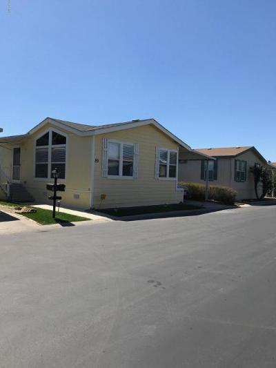 Camarillo Mobile Home For Sale: 89 Via Gabilan