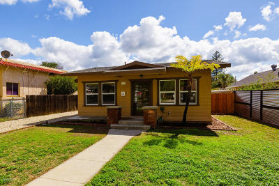 Fillmore Single Family Home Active Under Contract: 316 Blaine Avenue