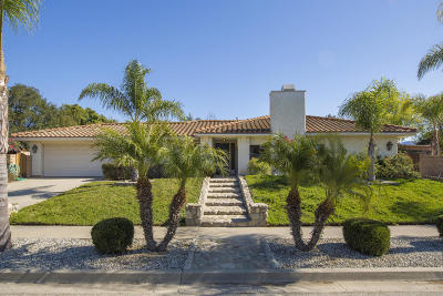 Ojai Single Family Home For Sale: 750 W Country Drive