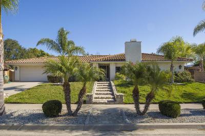 Ojai CA Single Family Home For Sale: $669,000