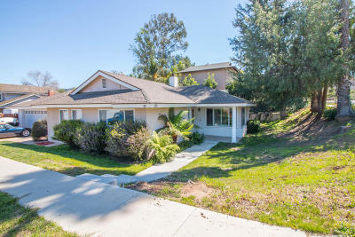 Newbury Park Single Family Home For Sale: 90 Lupe Avenue