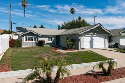 Ventura Single Family Home For Sale: 8645 Fairford Street