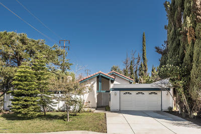 Newbury Park Single Family Home For Sale: 3721 Lesser Drive