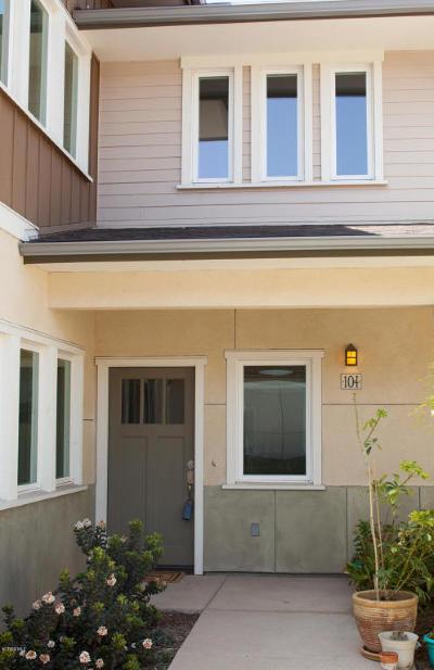 Ventura Single Family Home For Sale: 1016 Los Angeles Avenue #104