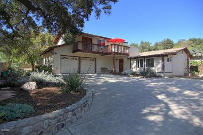 Ojai Single Family Home Active Under Contract: 460 El Conejo Drive