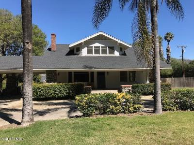 Fillmore Rental For Rent: 725 E Guiberson Road