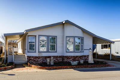 Oxnard Mobile Home Active Under Contract: 5540 W 5th Street #71