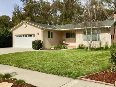 Ventura Single Family Home Active Under Contract: 5465 Bryn Mawr Street