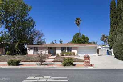Thousand Oaks Single Family Home Active Under Contract: 1085 Windsor Drive