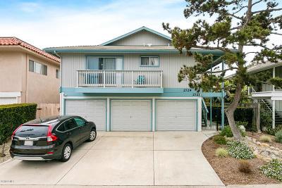 Ventura Single Family Home Active Under Contract: 2727 Bayshore Avenue