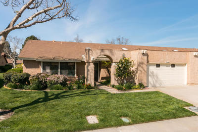 Camarillo Single Family Home Active Under Contract: 22108 Village 22