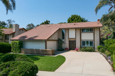 Ventura Single Family Home For Sale: 4649 Pomona Street
