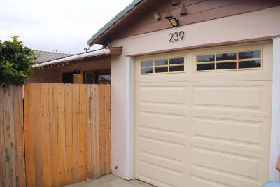 Ventura Single Family Home Active Under Contract: 239 Holt Street