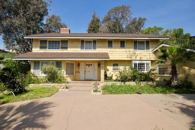 Santa Paula Single Family Home For Sale: 601 Dana Drive