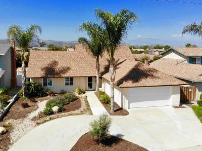 Ventura Single Family Home Active Under Contract: 8257 Tiara Street