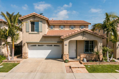 Camarillo Single Family Home For Sale: 449 Vista Del Sol