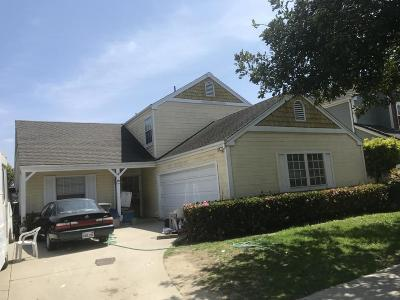 Oxnard Single Family Home For Sale: 1140 Rivas Lane