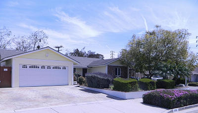 Ventura Single Family Home Active Under Contract: 998 Phoenix Avenue