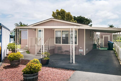 Oxnard Mobile Home Active Under Contract: 2400 E Pleasant Valley Road #15