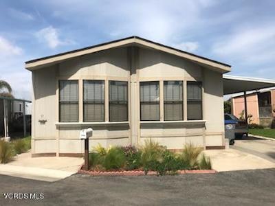 Oxnard Mobile Home Active Under Contract: 1648 Cherry Avenue #67