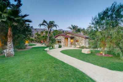 Ojai Single Family Home For Sale: 1250 Meyers Road