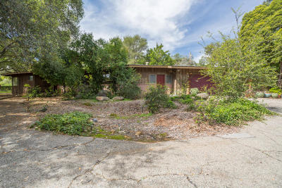 Ojai Single Family Home For Sale: 716 El Toro Road