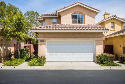 Camarillo Single Family Home Active Under Contract: 4525 Del Rayo Court