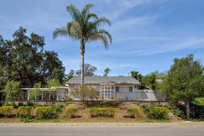 Santa Paula Single Family Home For Sale: 1134 Mariposa Drive