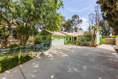 Oxnard Single Family Home Active Under Contract: 2512 Acacia Street